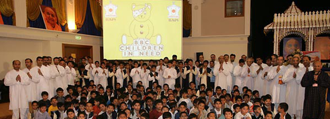 featured_BAPS Children Raise Money