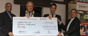 Diabetes UK Cheque Presentation 2014_feature