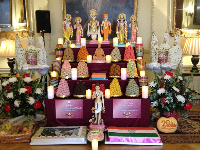 Prime Minister David Cameron celebrated the Hindu festival of Diwali ...